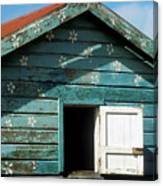 Colorful Shack Canvas Print