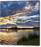 Colorful Snake River Canvas Print
