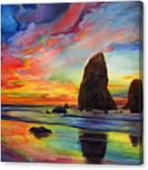 Colorful Solitude Canvas Print