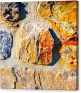 Colorful Stone Canvas Print