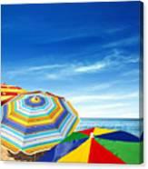 Colorful Sunshades Canvas Print
