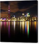Colorful Toronto Canvas Print