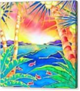Colorful Tropics 12 Canvas Print