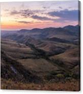 Colorful Valley Canvas Print