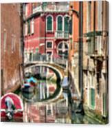 Colorful Venice  Canvas Print