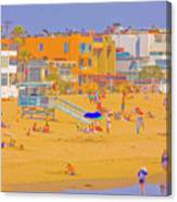 Colorful Venice Beach Canvas Print