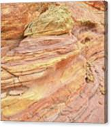 Colorful Wash 3 In Valley Of Fire Canvas Print