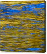 Colorful Water Surface Canvas Print