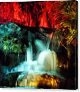 Colorful Waterfall Canvas Print