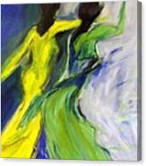 Colorful Women Canvas Print