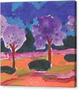Colorfull Trees Canvas Print