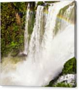 Colors Above The Water Canvas Print