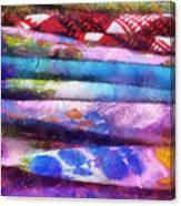 Colors Material Horizontal Pa 02 Canvas Print