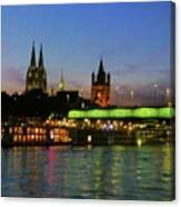 Colors Of Cologne Canvas Print