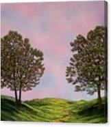 Colors Of Dawn Canvas Print