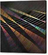 Colors Of Music Canvas Print