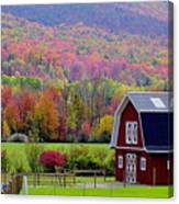 Colors Of New England Canvas Print