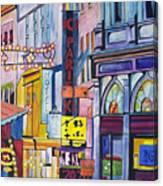 Colors Of Paris Canvas Print