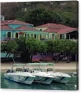 Colors Of St. John Us Virgin Islands Canvas Print