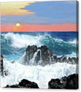 Colors Of The Ocean Canvas Print