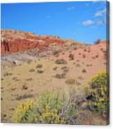 Colors Of The Utah Desert Canvas Print