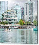 Colors Of Vancouver Canvas Print