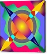 Colorscape 1-5 Canvas Print