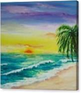 Colorset Canvas Print
