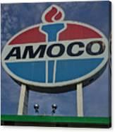 Colossal Amoco Canvas Print