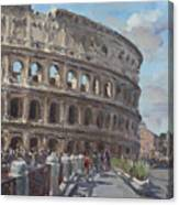 Colosseo Rome Canvas Print