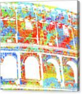 Colosseum - Colorsplash Canvas Print