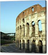 Colosseum Early Morning Canvas Print