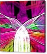 Colour Fabrics Painting Canvas Print