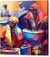 Colour Pan Canvas Print