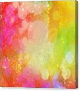 Colour Sugar Canvas Print