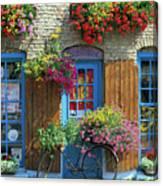 Colourful Boutique,france. Canvas Print
