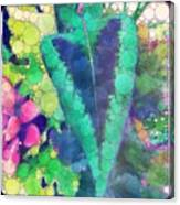 Colourful Leaves Canvas Print