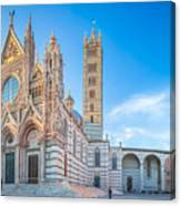 Colourful Siena Cathedral Canvas Print