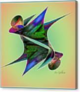 Colours 4 Canvas Print