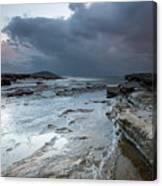Colours Of A Storm - Seascape Canvas Print