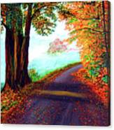 Colours Of Autumn Canvas Print