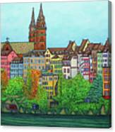 Colours Of Basel Canvas Print