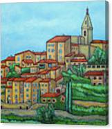 Colours of Crillon-le-Brave, Provence Canvas Print