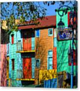Colours Of La Boca Canvas Print