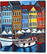 Colours Of Nyhavn Canvas Print