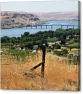 Columbia River - Biggs And Maryhill State Park Canvas Print