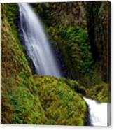 Columbia River Gorge Falls 1 Canvas Print