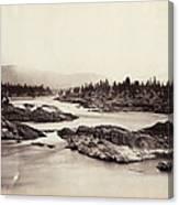 Columbia River: Kettle Falls Canvas Print