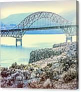 Columbia River Vantage Bridge Canvas Print