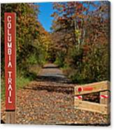 Columbia Trail Entrance Canvas Print